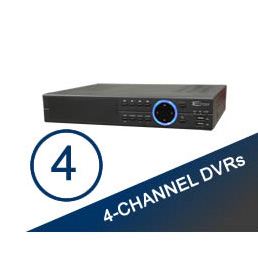 4 Channel DVR's