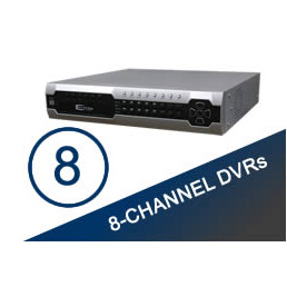 8 Channel DVR's
