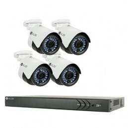 4 Channel IP Security Camera System- sys8430ip_m