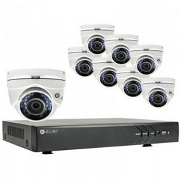 Alibi 8 Camera 700 Tvl 960h 65 Ir Outdoor Video Security